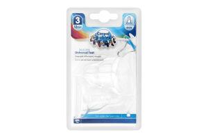 Соска для детей от 12мес силиконовая круглая быстрая №18/117 Canpol Babies 2шт