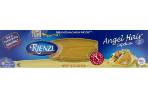 Rienzi Angel Hair Capellini Pasta