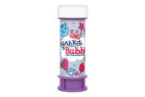 Мыльные пузыри для детей от 3лет №BB-12 Булька Bubble 60мл