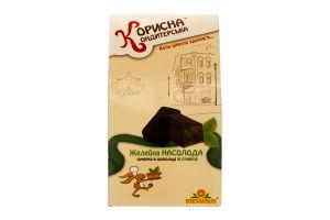 Цукерка глазурована шоколадом Желейна насолода Корисна Кондитерська к/у 150г