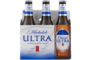 Michelob Ultra Superior Light Beer - 6 PK