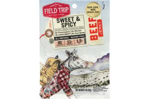 Field Trip Beef Jerky Sweet & Spicy