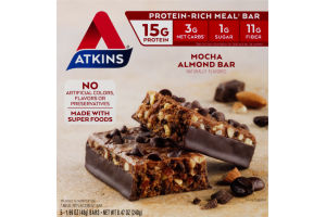 Atkins Mocha Almond Bar - 5 CT