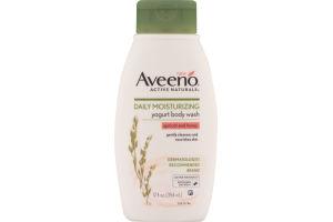 Aveeno Active Naturals Daily Moisturizing Yogurt Body Wash Apricot And Honey