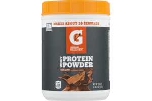 Gatorade Recover Whey Protein Powder 20G Chocolate