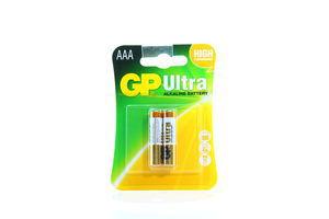 Батарейки AAА Ultra GP 2шт