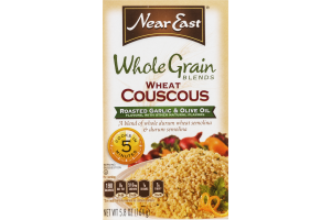 Near East Whole Grain Wheat Couscous Roasted Garlic & Olive Oil