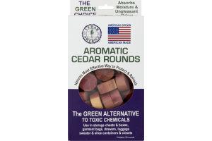 Cedar America Aromatic Cedar Rounds - 50 CT