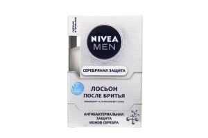 Лосьон после бритья Антибактериальный Серебряная защита Nivea Men 100мл