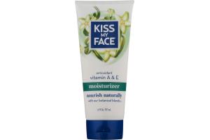 Kiss My Face Moisturizer Antioxidant Vitamin A & E