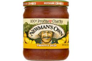 Newman's Own Pineapple Salsa Medium Chunky