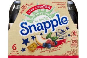 Snapple Juice Drink Lady LiberTEA - 6 CT