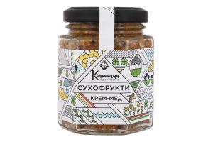 Крем-мед Сухофрукты Конюшина с/б 220г