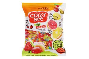 Конфеты желейные Crazy Bee Roshen м/у 200г