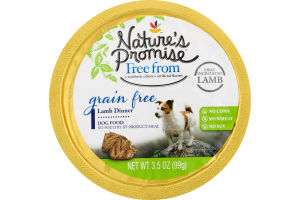 Nature's Promise Grain Free Dog Food Lamb Dinner