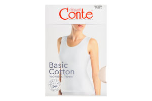 Майка жіноча Conte elegant Basic Collection №LM2020 170-96/L natural