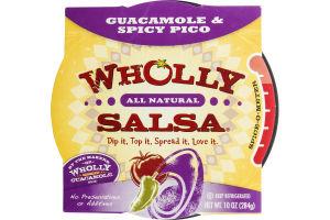 Wholly Salsa Guacamole & Spicy Pico