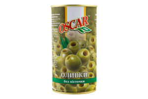Оливки без косточки Oscar ж/б 350г