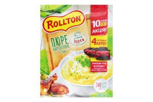 Пюре картопляне зі смаком курки Роллтон м/у 40г