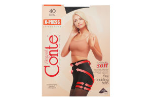 Колготки жіночі Conte X-press 40den №5 nero