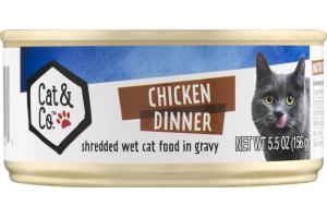 Cat & Co. Chicken Dinner Cat Food