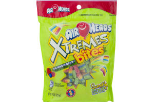 Air Heads Xtremes Bites Soft & Chewy Candy Rainbow Berry