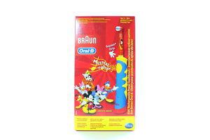 Зубная щетка детская електрическая Mickey Mouse Oral-B 1шт