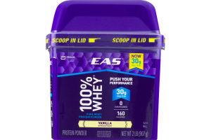 EAS 100% Whey Pure Whey Protein Powder Vanilla