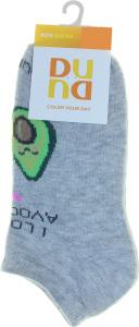 Шкарпетки дитячі Duna №9007 16-18 світло-сірий