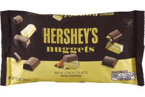 HERSHEY'S NUGGETS Milk Chocolate with Almonds, 12 oz