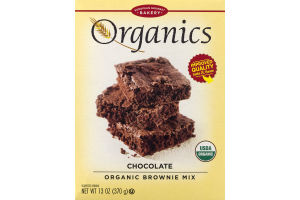 European Gourmet Bakery Organics Chocolate Organic Brownie Mix