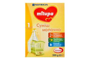 Смесь молочная сухая для детей от 0 до 6мес 1 Milupa к/у 350г