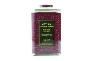 Чай Comptoir Francais Цейлон ОП з/б 100г