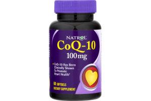 Natrol CoQ-10 100 mg - 60 CT