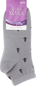 Носки женские Легка хода №5323 25 серебро