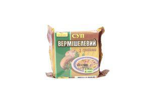 Суп быстрого приготовления вермишелевый с грибами Чудова м/у 160г