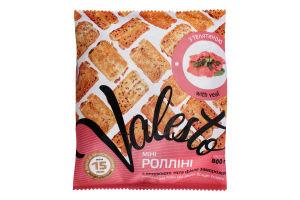 Міні-ролліні з витяжного тіста філло з телятиною заморожені Valesto м/у 800г
