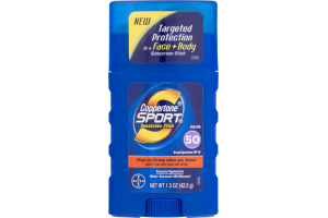 Coppertone Sport Sunscreen Stick SPF 50