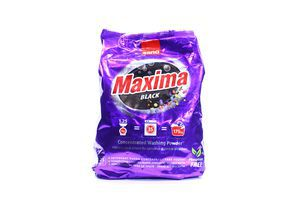 Порошок стиральный д/темных вещей Maxima Black Sano м/у 1,25кг