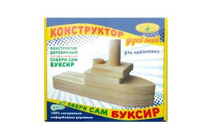 Конструктор дерев`яний КФІ Збери сам Буксир