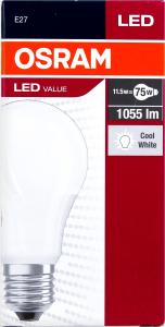 Лампа OSRAM Value LED A75 11,5W 4000К E27