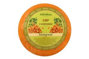 Сыр твердый с пажитником Hollandburg кг