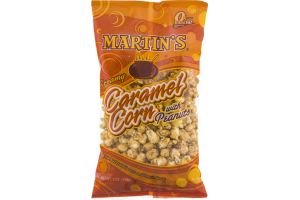 Martin's Creamy Caramel Corn with Peanuts