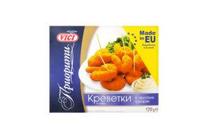 Креветки із сурімі в хрустких сухарях Vici к/у 170г