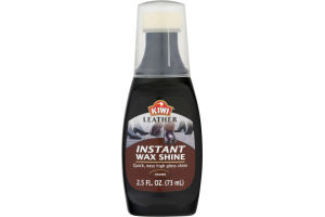 Kiwi Instant Wax Shine Brown