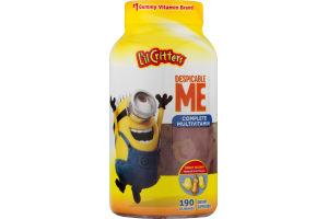 L'il Critters Despicable Me Complete Multivitamin Gummies Fruit Flavors - 190 CT