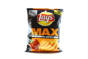 Чіпси Lays Max Пікантна паприка 50г