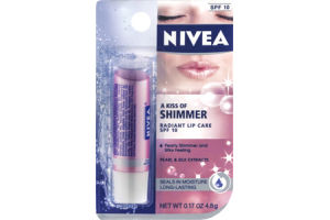 Nivea A Kiss of Shimmer SPF 10 Radiant Lip Care