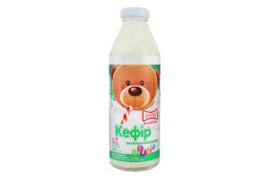 Кефир 2.5% для детей от 8мес витаминизированный Малютка Злагода с/бут 200г