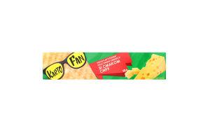Чипсы картофельные волнистые со вкусом сыра Kartofun к/у 50г